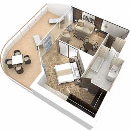 Club World Owners Suite Layout