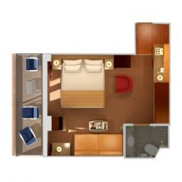 Premium Balcony (Obstructed View) Layout