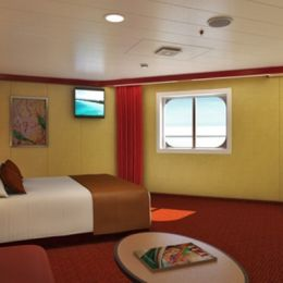 Cloud 9 Spa Obstructed Oceanview Stateroom