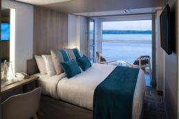 Edge Single Stateroom with Infinite Veranda