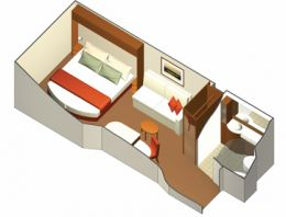 Inside Stateroom Layout