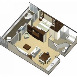 Royal Suite Layout