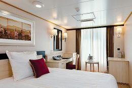 Britannia Single Stateroom (Oceanview)