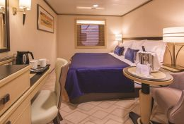 Britannia Interior Stateroom with Atrium View