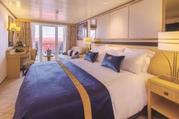 Britannia Balcony Stateroom (Obstructed View)