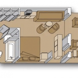 Signature Suite floorplan