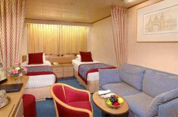 Large or Standard Inside Staterooms