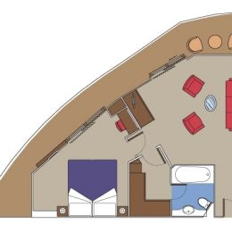 Royal Suite floorplan