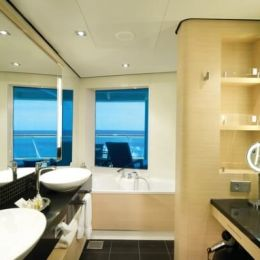 The Haven Aft-Facing Penthouse Bathroom
