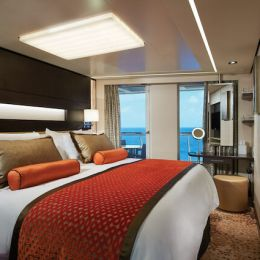 The Haven Aft-Facing Penthouse Bedroom