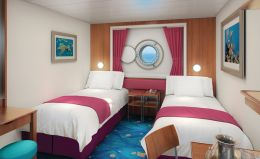 Oceanview Porthole Window Stateroom