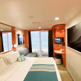 Aft-Facing Balcony Stateroom