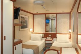 Intertior Stateroom