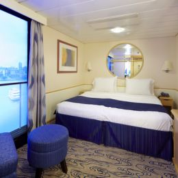Inside Stateroom with Virtual Balcony