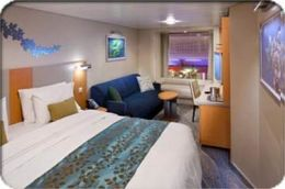 Boardwalk View Balcony Stateroom