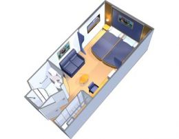 Interior Stateroom Layout