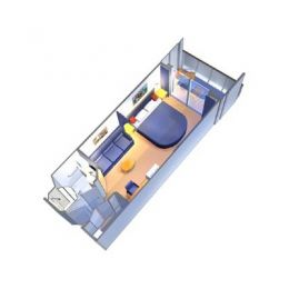 Superior Balcony Stateroom Layout