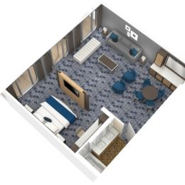 Owner's Suite - 1 Bedroom
