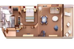 Penthouse Spa Suite Layout