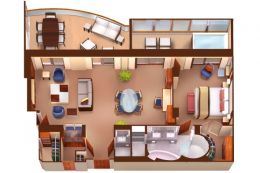 Wintergarden Suite Layout