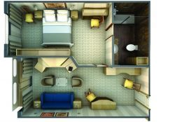 Medallion Suite Layout