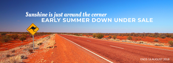 Early Summer Down Under Sale!!!
