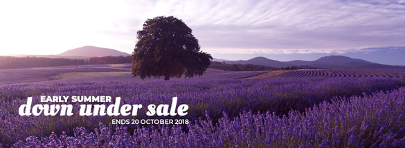 EARLY SUMMER DOWN UNDER ON SALE!