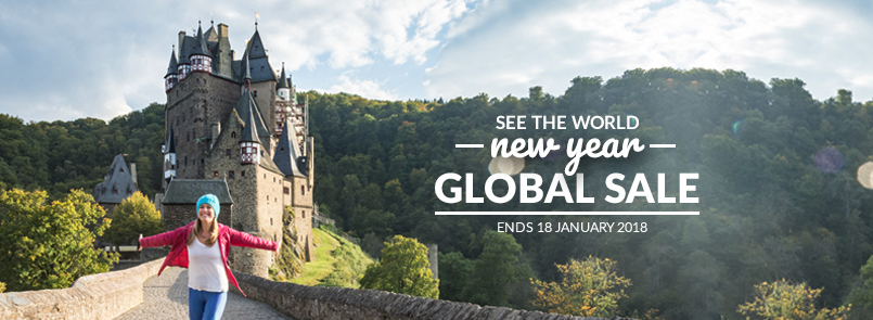 New Year Global Sale. Ends 18 January!