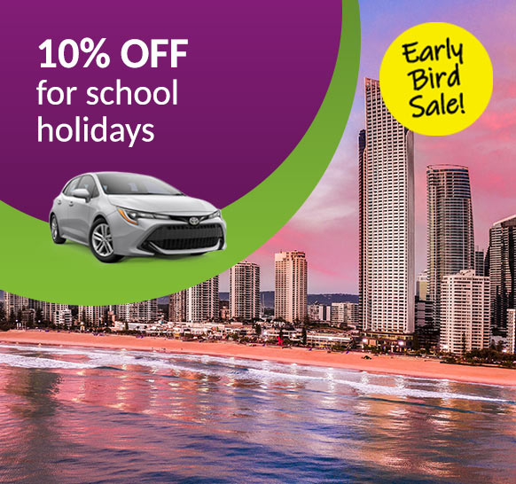10% Off - Early Bird School Holiday promotion