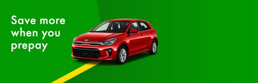 Up to 25% off Europcar
