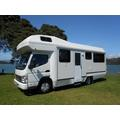6 berth motorhomes new zealand camper van rental