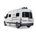 2+1 Berth Jayco Escape australia camper van hire