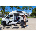 Paradise Shower & Toilet (All Inclusive Rate) $500 EXCESS australia camper van hire