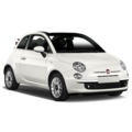 Fiat 500 Cabrio alicante car rental