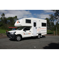 4 Berth Shower and Toilet australia camper van hire
