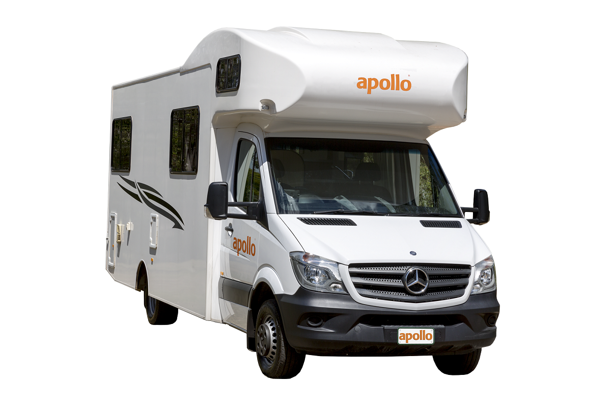 Apollo Motorhomes NZ Domestic 6 Berth Euro Deluxe