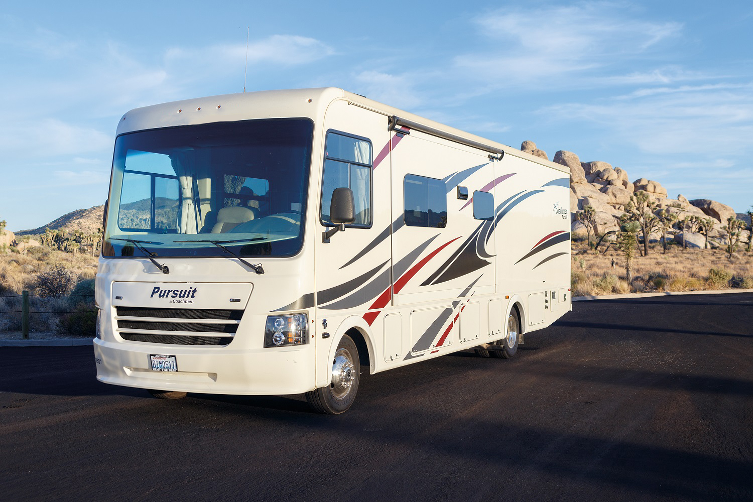 Compass Campers USA (International) AF34 Class A Motorhome Slide Out