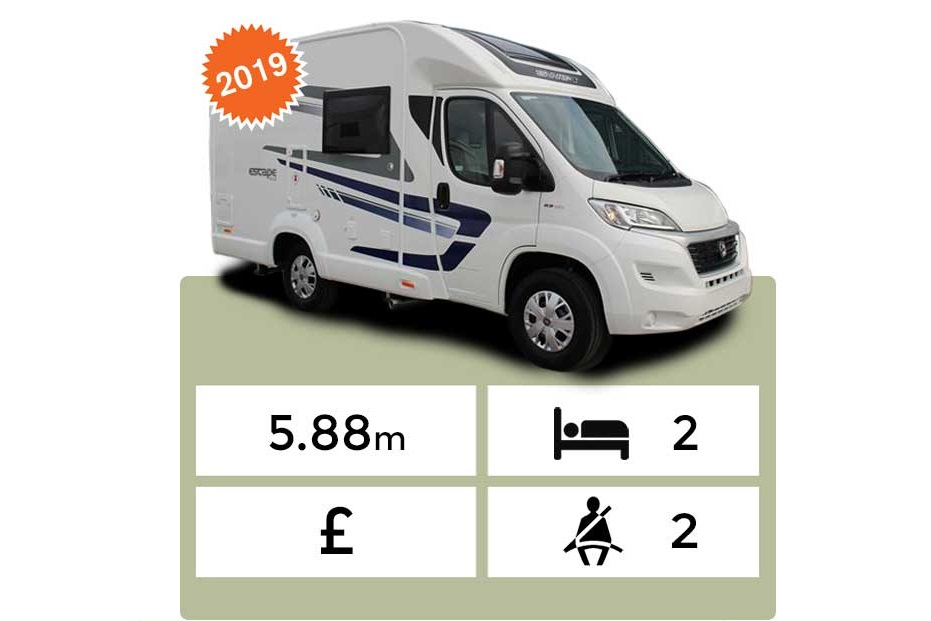 Landcruise Motorhome Hire Swift Escape 612