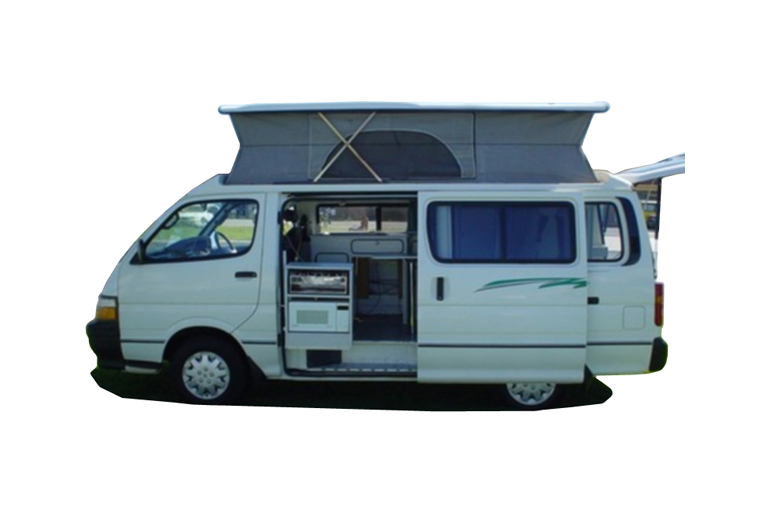 Kangaroo Campervan Rentals 2 berth pop-top camper