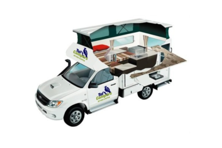 Tui Campers NZ Bush Camper 2 berth