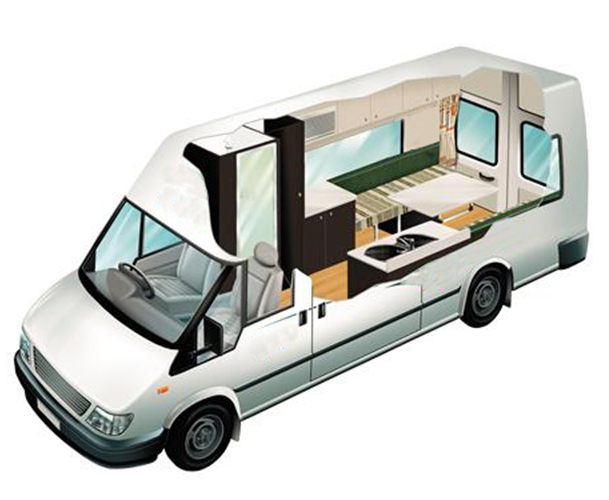 RV Shop 2 Berth Deluxe
