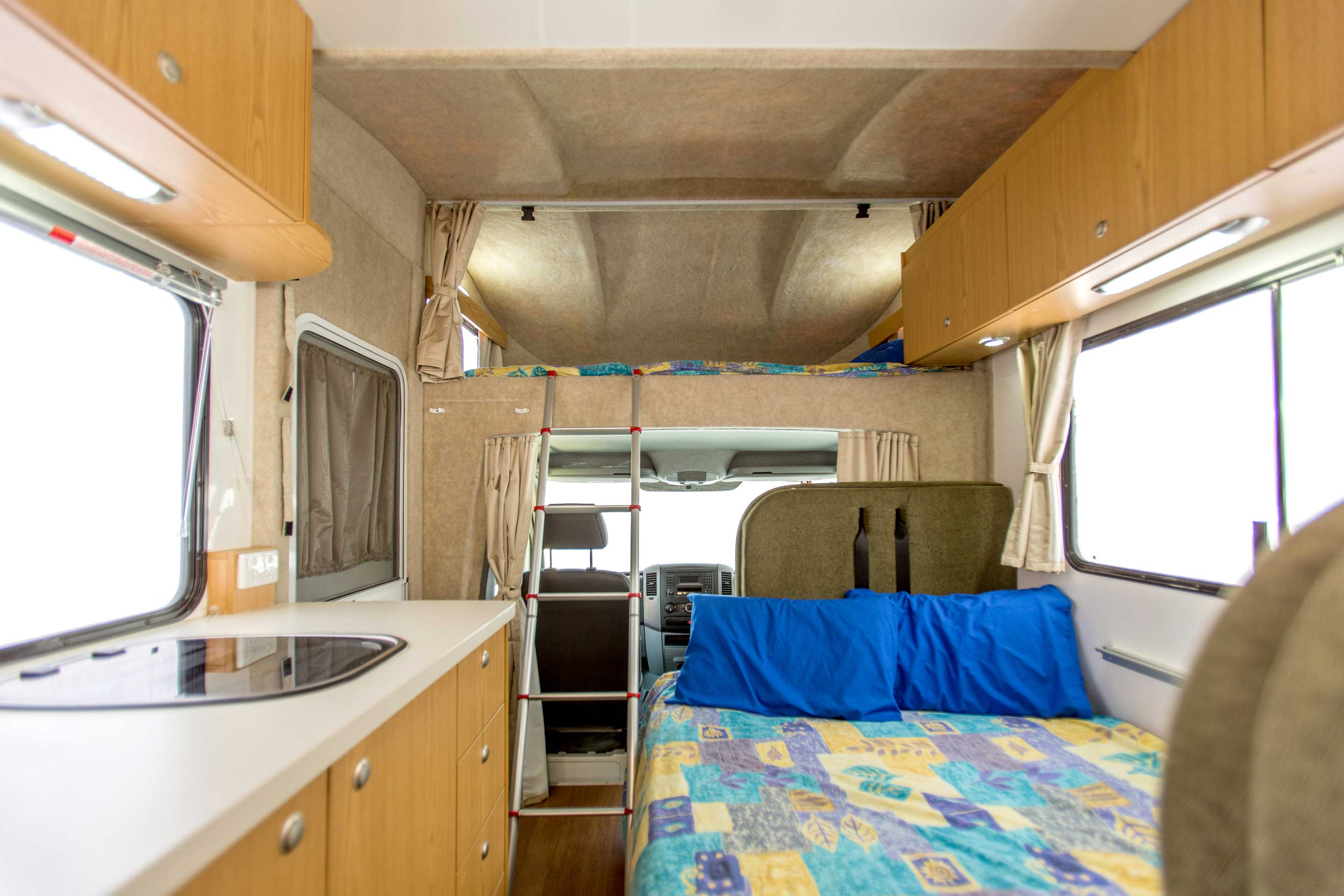 969e782c2c Apollo Motorhomes NZ International 6 Berth Euro Deluxe campervan hire new  zealand. click here for larger image