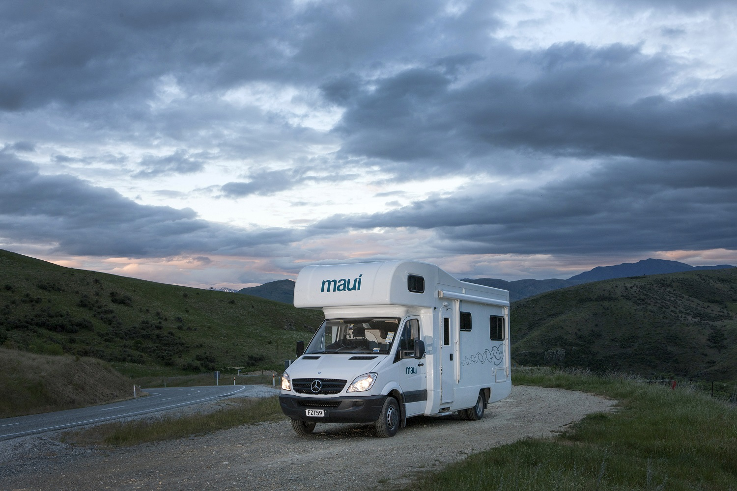 Maui Motorhomes NZ (domestic) Maui River Elite Motorhome