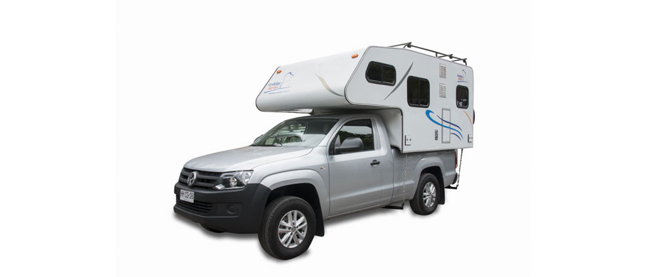 Holiday Rent Patagonia Camper 4x4 Single Cab