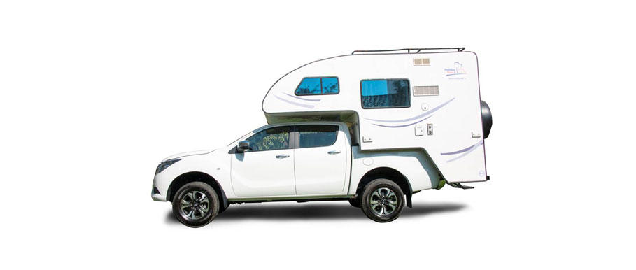 Holiday Rent Patagonia Camper 4x4 Double Cab