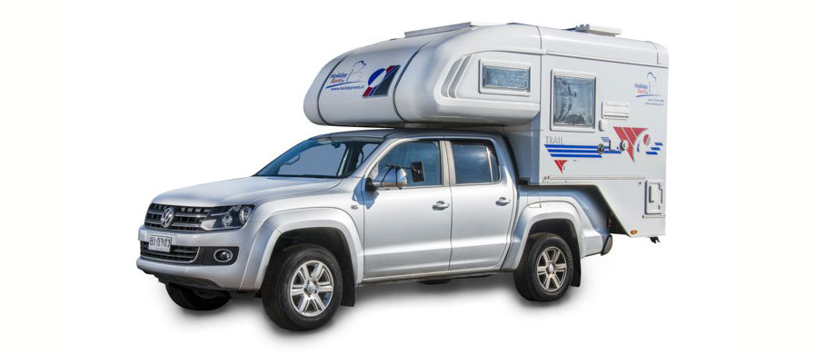 Holiday Rent Ushuaia Camper 4x4 Double Cab