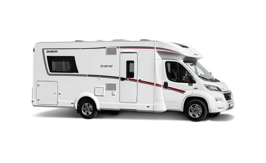 Pure Motorhomes Norway Comfort Standard T 7051 or similar