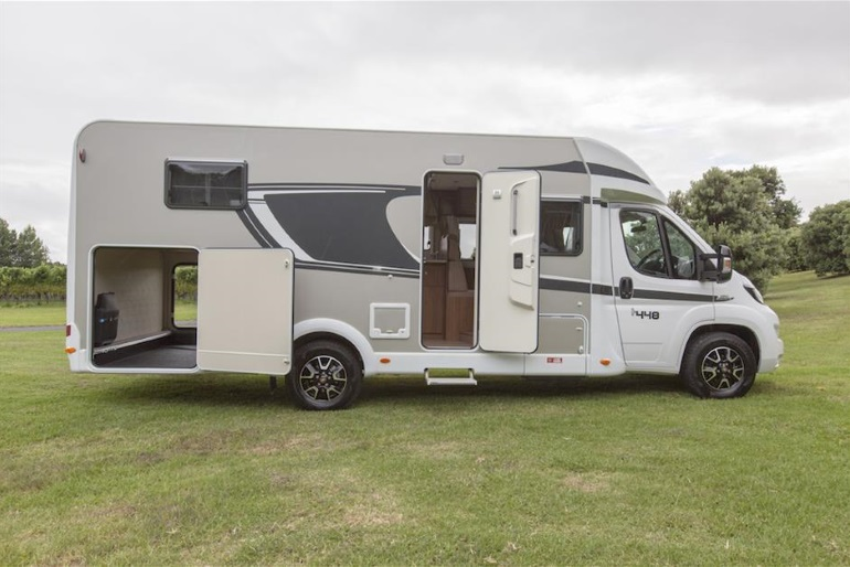 4 berth ranger motorhome rental new zealand