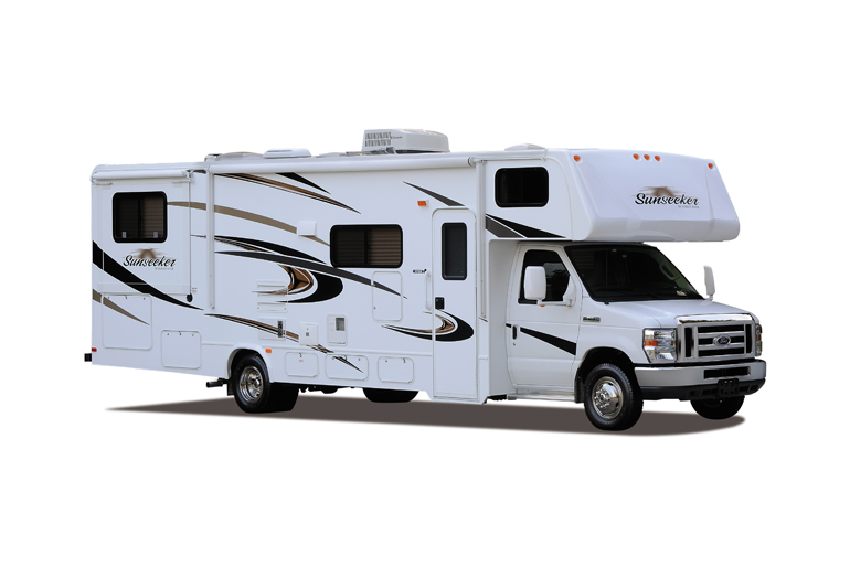 Outdoor Travel Class C 31' with Slideout & Bunks Econo