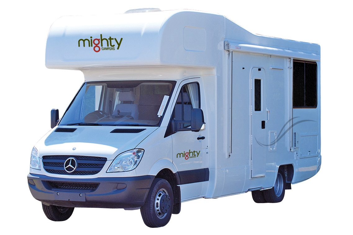 Mighty Campers NZ International 4 Berth Double Up